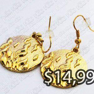 Aretes Libros Divergente Ecuador Comprar Venden, Bonita Apariencia dorado, practica, Hermoso material bronce Color dorado Estado nuevo