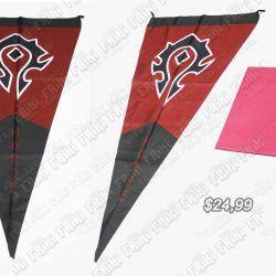 Bandera Videojuegos World of Warcraft Horda Ecuador Comprar Venden, Bonita Apariencia, decorativo practica, Hermoso material poliester Color negro y rojo Estado nuevo