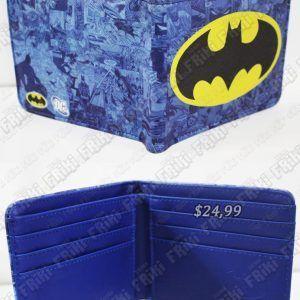 Billetera Cómics Batman Ecuador Comprar Venden, Bonita Apariencia, práctica, Hermoso material: Denim y polippiel Color: Azul, negro, amarillo Estado: Nuevo