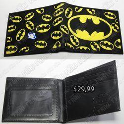 Billetera Cómics Batman Ecuador Comprar Venden, Bonita Apariencia, práctica, Hermoso material: Silicona, PVC y polippiel Color: Negro, amarillo Estado: Nuevo