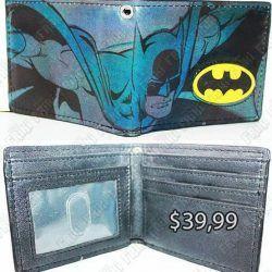 Billetera Cómics Batman Ecuador Comprar Venden, Bonita Apariencia, práctica, Hermoso material: PVC y polippiel Color: Negro, amarillo. gris Estado: Nuevo