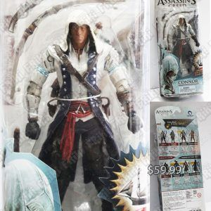 Figura Videojuegos Assassins Creed, Bonita Apariencia, practico, Hermoso material Plástico, Color Blanco/Azul/Negro, Estado Nuevo