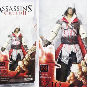 Figura Videojuegos Assassins Creed, Bonita Apariencia, practico, Hermoso material Plástico, Color Blanco/Rojo/Negro, Estado Nuevo