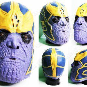 Máscara Cómics Avengers Ecuador Comprar Venden, Bonita Apariencia, práctica, Hermoso material: Látex Color: Morado, amarillo, negro, azul Estado: Nuevo
