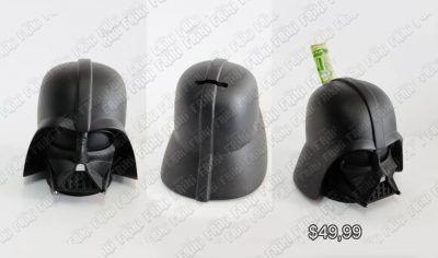 Alcancía Película Star Wars Dark Vader Ecuador Comprar Venden, Bonita Apariencia útil, practica, Hermoso material plástico Color negro Estado nuevo