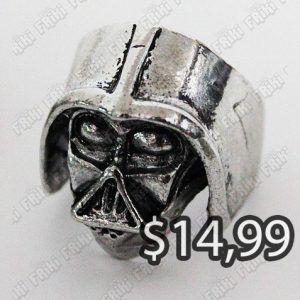 Anillo Película Star Wars Dark Vader Ecuador Comprar Venden, Bonita Apariencia de plata, practica, Hermoso material de bronce niquelado Color plateado Estado nuevo