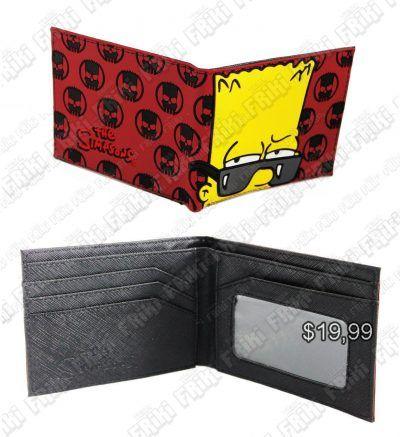 Billetera Series Los Simpsons Ecuador Comprar Venden, Bonita Apariencia perfecta para los fans de la serie, practica, Hermoso material de cuerina Color rojo Estado nuevo