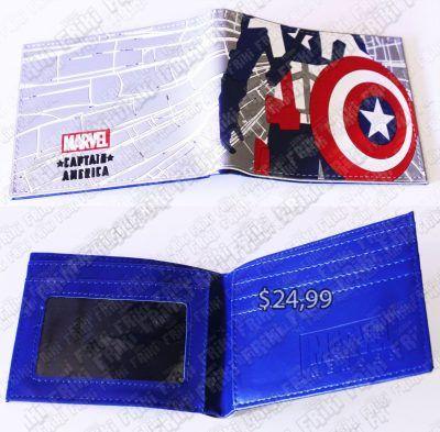 Billetera Cómics Capitán América Ecuador Compran Venden, Bonita Apariencia, practica, Hermoso material: Plástica Color: como en la foto Estado: nuevo