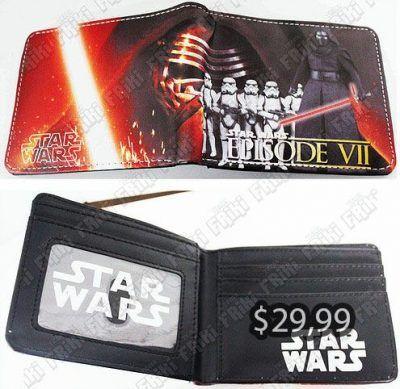 Billetera Película Star Wars Sable Rojo Ecuador Comprar Venden, Bonita Apariencia de cuero, practica, Hermoso material de cuerina Color rojo Estado nuevo