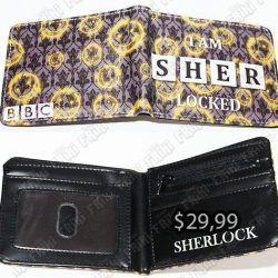 Billetera Series Sherlock V2 Ecuador Comprar Venden, Bonita Apariencia perfecta para los fans de la serie, practica, Hermoso material de cuerina Color negro Estado nuevo