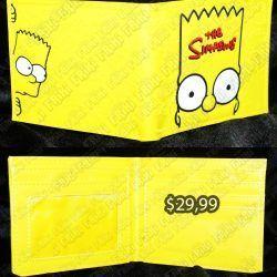 Billetera Series Los Simpsons Bart Ecuador Comprar Venden, Bonita Apariencia perfecta para los fans de la serie, practica, Hermoso material de cuerina Color amarillo Estado nuevo