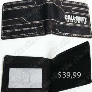 Billetera Videojuegos Call of Duty Ghost Ecuador Comprar Venden, Bonita Apariencia ideal para un gamer, practica, Hermoso material de tela Color negro Estado nuevo