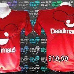 Camiseta Música Electrónica DeadMau5 Ecuador Comprar Venden, Bonita Apariencia ideal para los fans, practica, Hermoso material de poliéster Color rojo Estado nuevo