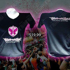 Camiseta Música Electrónica Tomorrowland Ecuador Comprar Venden, Bonita Apariencia ideal para los fans, practica, Hermoso material de poliéster Color negro Estado nuevo
