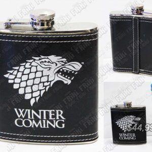Termo Series Game of Thrones Stark Ecuador Comprar Venden, Bonita Apariencia perfecta y útil para fans de la serie, practica, Hermoso material de aluminio Color negro Estado nuevo