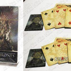 Naipes Series Game of Thrones Ecuador Comprar Venden, Bonita Apariencia perfecto para jugar, practica, Hermoso material de papel y grafito Color como en la fot Estado nuevo