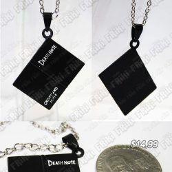 Collar Anime Death Note Ecuador Comprar Venden, Bonita Apariencia, practica, Hermoso material de bronce niquelado Color negro Estado nuevo