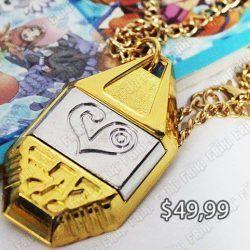Collar Anime Digimon Ecuador Comprar Venden, Bonita Apariencia, practica, Hermoso material de bronce niquelado Color dorado Estado nuevo