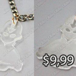 Collar Series Avatar Aang Ecuador Comprar Venden, Bonita Apariencia perfecto para fans de Avatar, practica, Hermoso material de vidrio Color blanco transparente Estado nuevo