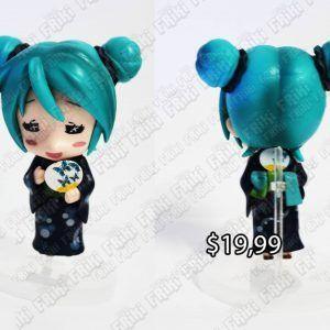 Figura Música Vocaloid Hatsune Miku Ecuador Comprar Venden, Bonita Apariencia ideal para los fans, practica, Hermoso material de plástico Color como en la imagen Estado nuevo