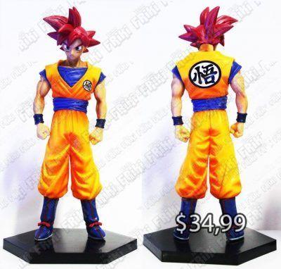 Figura Anime Dragon Ball Goku Super Saiyan Rojo Ecuador Comprar Venden, Bonita Apariencia perfecta para coleccionistas y fans de la serie, practica, Hermoso material de plástico Color como en la foto Estado nuevo