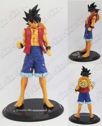 Figura Anime Dragon Ball Goku x Luffy Ecuador Comprar Venden, Bonita Apariencia perfecta para coleccionistas y fans de la serie, practica, Hermoso material de plástico Color como en la foto Estado nuevo
