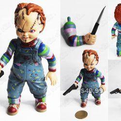 Figura Película Chucky Chucky Ecuador Comprar Venden, Bonita Apariencia perfecta para fanáticos, practica, Hermoso material plástico Color como en la foto Estado nuevo