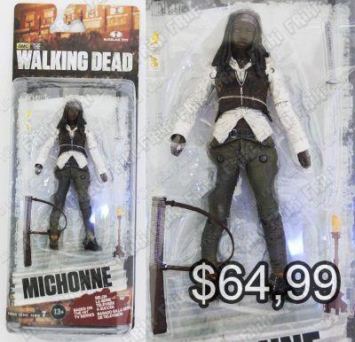 Figura Series The Walking Dead Michonne Ecuador Comprar Venden, Bonita Apariencia perfecta para coleccionistas y fans de la serie, practica, Hermoso material de plástico Color como en la foto Estado nuevo