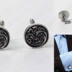 Gemelos Series Game of Thrones Targaryen Ecuador Comprar Venden, Bonita Apariencia perfecto para los fans de la serie, practica, Hermoso material de bronce niquelado Color plateado y negro Estado nuevos