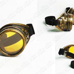 Goggles Steampunk Color Dorado Ecuador Comprar Venden, Bonita Apariencia dorada, practica, Hermoso material plástico Color dorado Estado nuevo