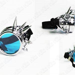 Spikes Goggles Steampunk Plata Ecuador Comprar Venden, Bonita Apariencia plateada, practica, Hermoso material plástico Color plata Estado nuevo