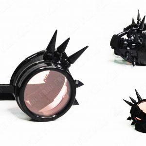 Spikes Goggles Steampunk Negro Ecuador Comprar Venden, Bonita Apariencia negra, practica, Hermoso material plástico Color negro Estado nuevo