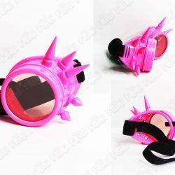 Spikes Goggles Steampunk Rosa Ecuador Comprar Venden, Bonita Apariencia rosa, practica, Hermoso material plástico Color rosa Estado nuevo