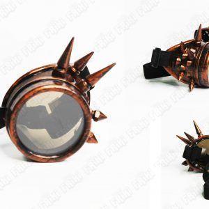 Spikes Goggles Steampunk Cobre Ecuador Comprar Venden, Bonita Apariencia de cobre, practica, Hermoso material plástico Color cobre Estado nuevo