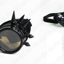 Spikes Goggles Steampunk color Negro Ecuador Comprar Venden, Bonita Apariencia negra, practica, Hermoso material plástico Color negro Estado nuevo