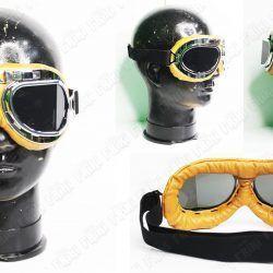 Goggles Steampunk Aviador grande Ecuador Comprar Venden, Bonita Apariencia amarilla, practica, Hermoso material plástico Color amarillo Estado nuevo