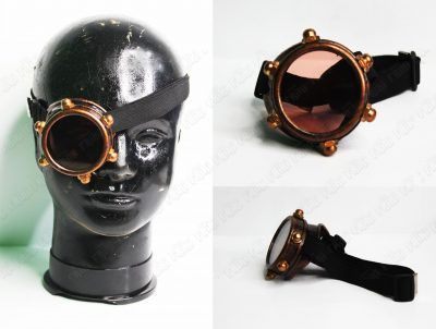 Goggles Steampunk Monóculo Ecuador Comprar Venden, Bonita Apariencia de bronce, practica, Hermoso material plástico Color bronce Estado nuevo
