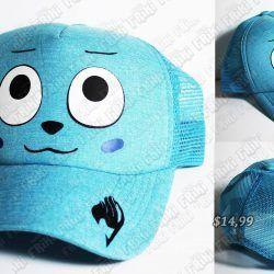 Gorra Anime Fairy Tail Ecuador Comprar Venden, Bonita Apariencia ideal para los fans, practica, Hermoso material de algodón Color azul Estado nuevo