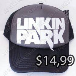 Gorra Música Pop Linkin Park Ecuador Comprar Venden, Bonita Apariencia ideal para fans de Linkin Park, practica, Hermoso material de buckram Color negro Estado nuevo