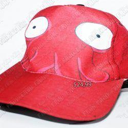 Gorra Series Futurama Zoidberg Ecuador Comprar Venden, Bonita Apariencia perfecta para los fans de la serie, practica, Hermoso material de algodón y buckram Color rojo Estado nuevo