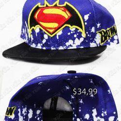 Gorra Cómics batman vs Superman Ecuador Comprar Venden, Bonita Apariencia, practica, Hermoso material: Poliester Color: negro con azul Estado: nuevo