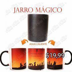 Jarro mágico Libros Lord of the Rings Logo Ecuador Comprar Venden, Bonita Apariencia divertido de usar, práctica, Hermoso material de cerámica Color negro Estado Nuevo