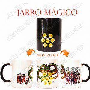 Jarro mágico Anime Dragon Ball Esferas del Dragón Ecuador Comprar Venden, Bonita Apariencia divertido de usar, práctica, Hermoso material de cerámica Color: negro Estado: Nuevo