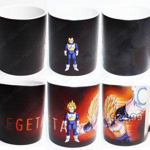 Jarro mágico Anime Dragon Ball Vegeta Ecuador Comprar Venden, Bonita Apariencia divertido de usar, práctica, Hermoso material de cerámica Color: negro Estado: Nuevo