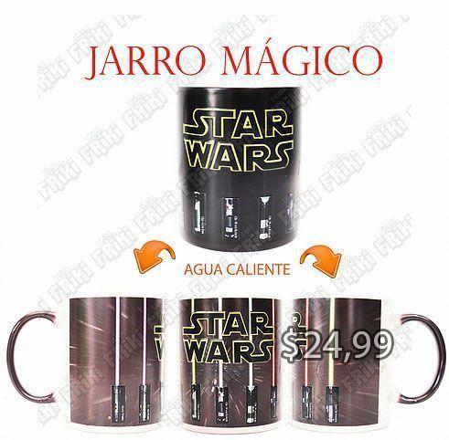 Jarro Mágico Película Star Wars Logo Ecuador Comprar Venden, Bonita Apariencia ideal para los fans, practica, Hermoso material de cerámica Color negro Estado nuevo