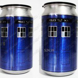 Termo Series Doctor Who TARDIS Ecuador Comprar Venden, Bonita Apariencia perfecta y útil para fans de la serie, practica, Hermoso material de aluminio Color azul Estado nuevo