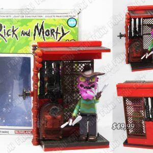 """Lego Series Rick y Morty """"Scary Terry"""" Ecuador Comprar Venden, Bonita Apariencia perfecta para coleccionistas y fans de la serie, practica, Hermoso material de plástico Color como en la foto Estado nuevo"""