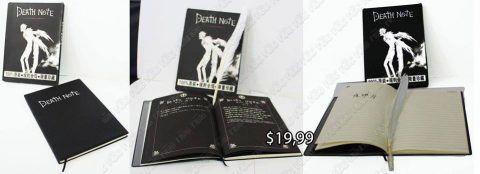 Libreta Anime Death Note Ecuador Comprar Venden, Bonita Apariencia perfecta y útil para fans, practica, Hermoso material de papel Color negro Estado nuevo