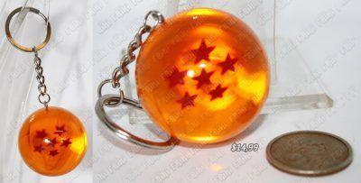 Llavero Anime Dragon Ball Esfera del Dragón 6 estrellas Ecuador Comprar Venden, Bonita Apariencia perfecto para decorar tus pertenencias, practica, Hermoso material de plástico Color anaranjado Estado nuevo