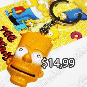 Llavero Series Los Simpsons Ecuador Comprar Venden, Bonita Apariencia perfecto para decorar tus pertenencias, practica, Hermoso material de bronce niquelado Color como en la foto Estado nuevo